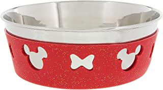 Disney Parks Minnie Mouse Bow Icon Silicone on Metal Dog Cat