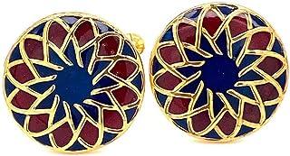 Art Deco Cufflinks, Engraved Vintage Cufflinks for Him, Mens Wedding Cufflinks, Handcrafted Swank Cufflinks, Unique Annive...
