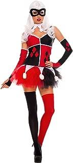 Music Legs Women's Harley Jester Costume