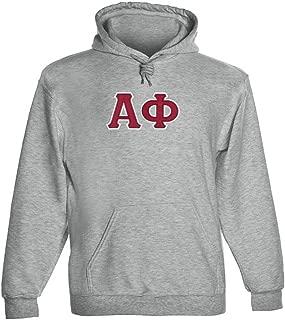 Alpha Phi Twill Letter Hoody