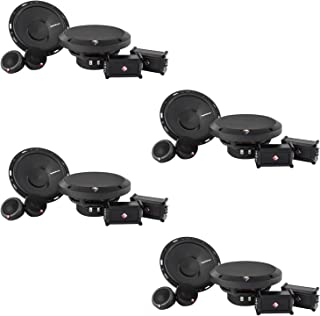 New Rockford Fosgate P165-SE 6.5-inch 120 Watt 2-Way 4 Ohm Car Audio Component Speaker System (4 Pack)