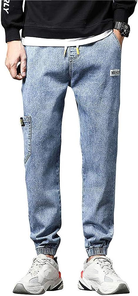 STARNEAK Men's Joggers Denim Jeans On Elastic Pull Casual Award-winning store Special price Waist