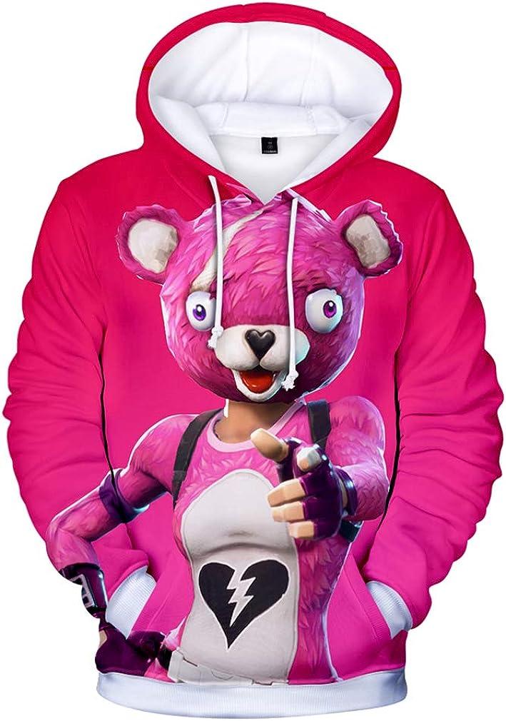 JIEFEIZHL Christmas 3D Novelty Sweatshirt Hoodies