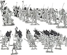 88Pcs Medieval Warriors Horse Soldier Figure Layout for Child Party Fun Toys