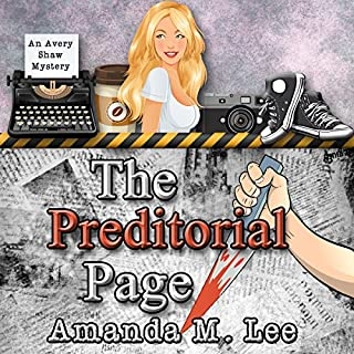 The Preditorial Page: Avery Shaw Mystery Book 5 audiobook cover art