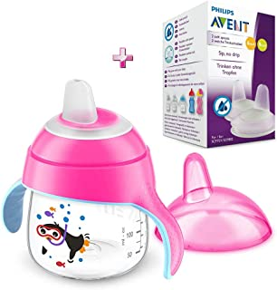 Amazon.es: vaso bebe antigoteo