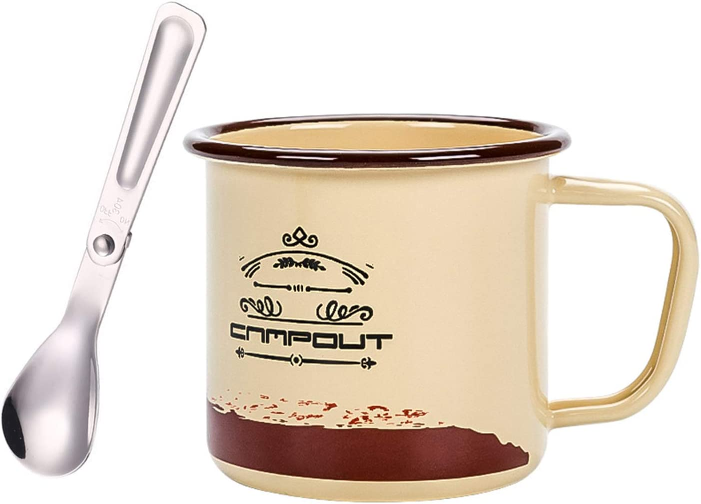 DZRZVD Enamel Credence Mugs Camping Cups Coffee Camp 40% OFF Cheap Sale Tea Drinking Mug Cup