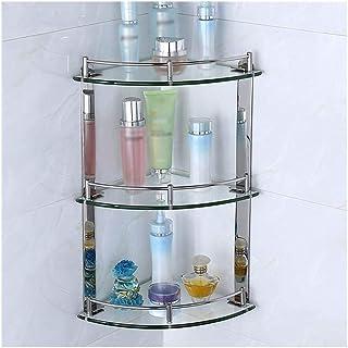 YF-SURINA Caddies de douche étagère de forage étagères de salle de bain Caddies de douche panier de bain étagère de rangem...