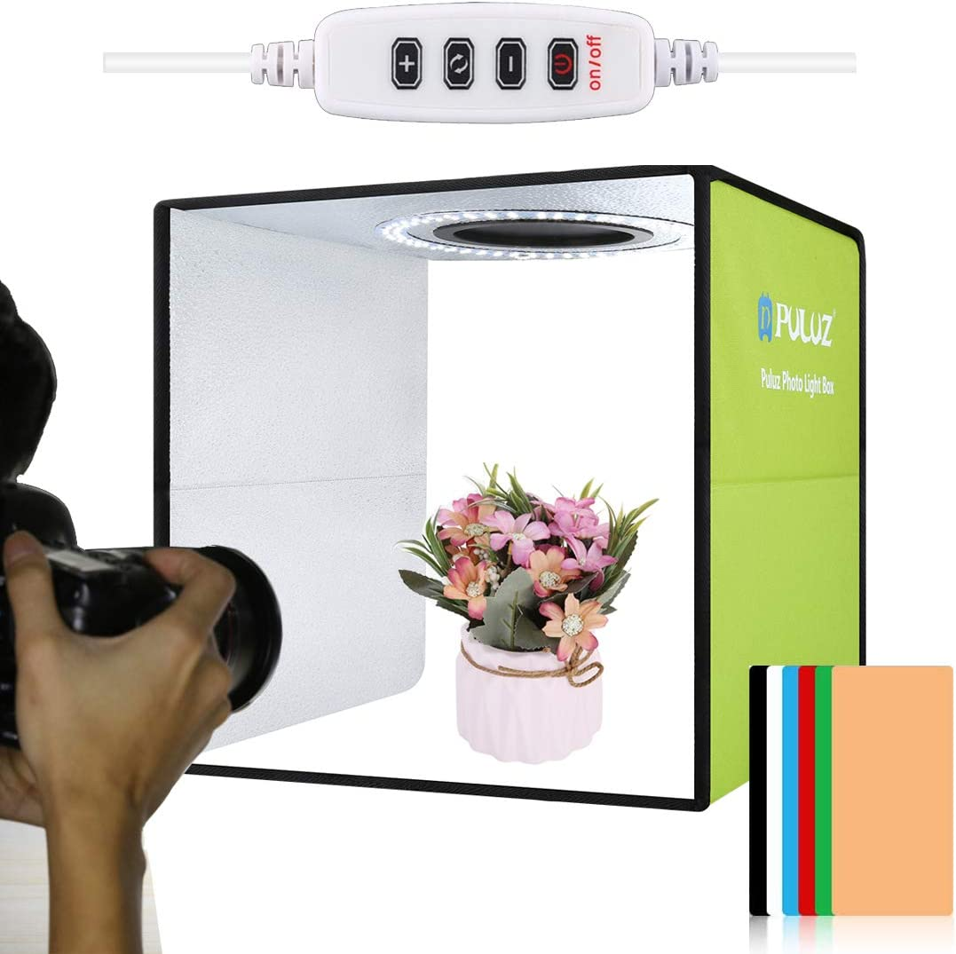 12inch Max Store 65% OFF Photo Studio Light Box with Photography LED Adjustab Ring