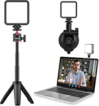Video Light with Tripod & Suction Cup ULNAZI Computer Light for Video Conferencing, Laptop Video Conference Lighting for R...