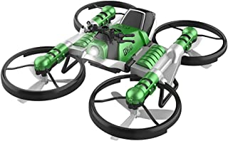 Fdrone Unique 2-in-1 Folding WiFi FPV Drone and Motorcycle Vehicle Multi-Function