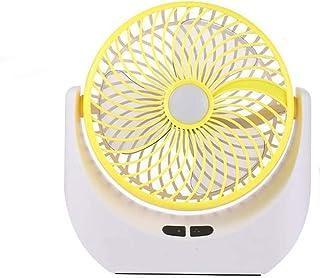 JULABO Durable Charge USB Ventilateur de Table Veilleuse Solaire à Chargement Solaire Ventilateur électrique Rotatif de Bu...