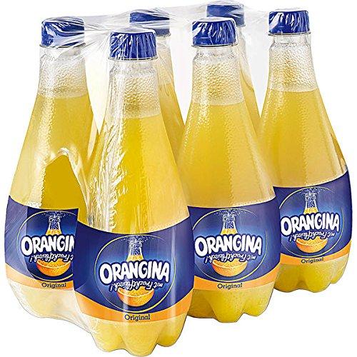 Orangina Orange PET Flaschen EINWEG, 18 Flaschen a 0,5l