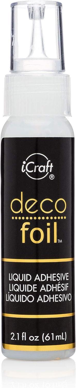 iCraft Deco Mail order Foil Sale item Liquid 2.1 Adhesive Fl oz