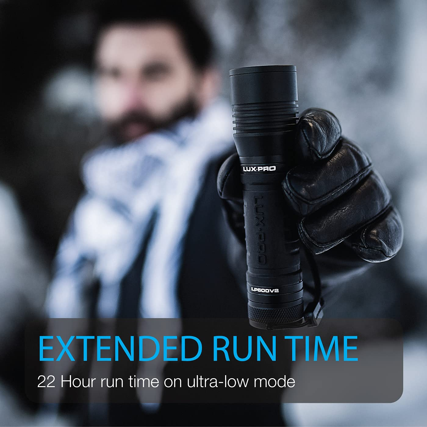 Lux Pro LP600V2 Water Resistant 400 Lumen Tactical LED Flashlight for sale online