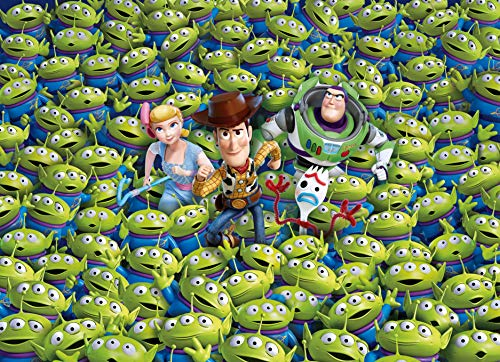 Clementoni 39499 39499-Impossible Disney Toy Story 4-1000 Pieces, Jigsaw Puzzle for Adults, Multi-Colour