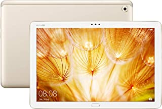 """Huawei M5 Lite 10.1"""" Tablet, 3GB RAM, 32GB SSD, Wi-Fi+Cellular, Android - Champagne Gold"""