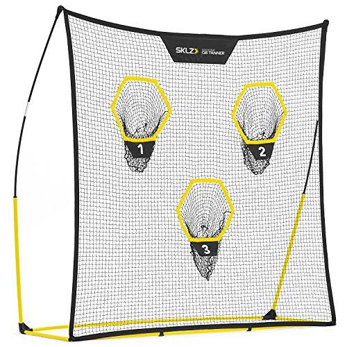 SKLZ Quickster QB Fußballtrainer-Netz mit Zielscheibe Tragbar, schnelle Installation. 17,8 x 17,8 cm.