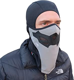 Grace Folly Full Balaclava Ski Face Mask. Use for Snowboarding & Cold Winter Weather Sports