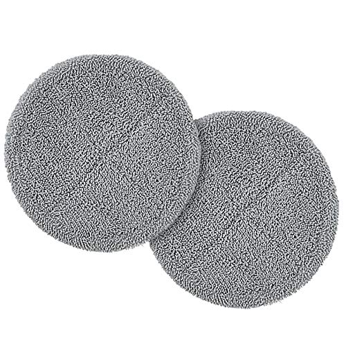 1 Set of Replacement Pads for iDOO ID-EM002 Cordless Electric Spin Mop