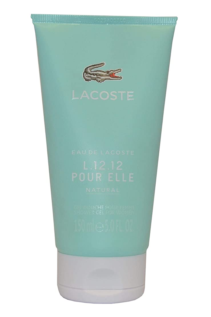 者花瓶不愉快Eau de Lacoste L.12.12. Pour Elle Natural by Lacoste Shower Gel 150ml by Lacoste