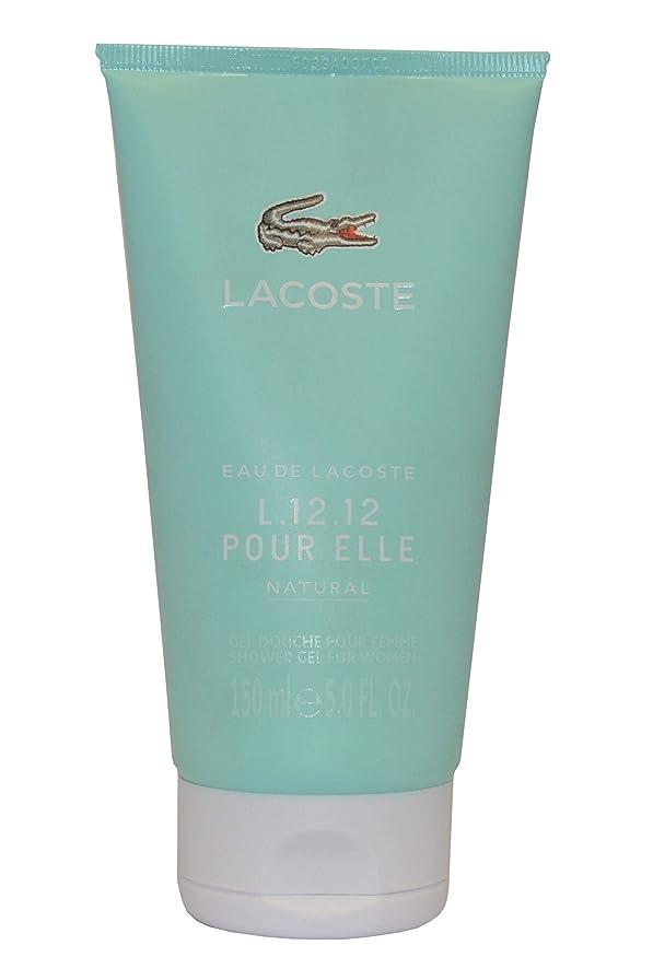 エレベーター打撃偽善Eau de Lacoste L.12.12. Pour Elle Natural by Lacoste Shower Gel 150ml by Lacoste