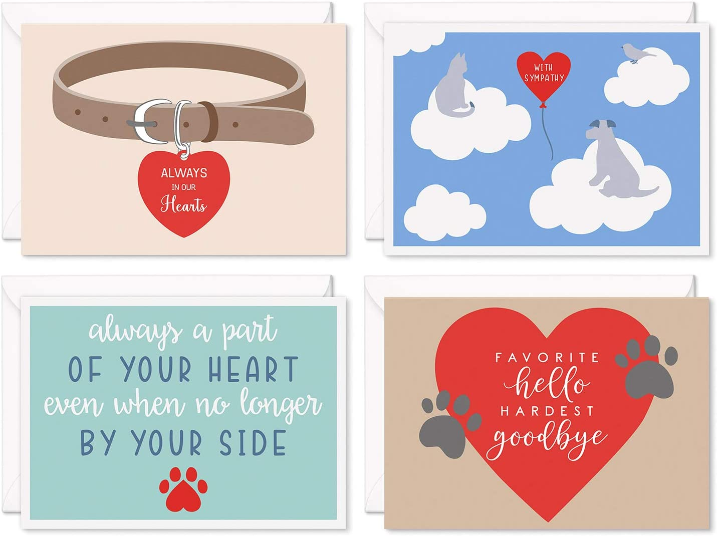 Sweetzer Orange Loss of Pet Sales Sympathy for Cats Dogs Cards and Sales results No. 1