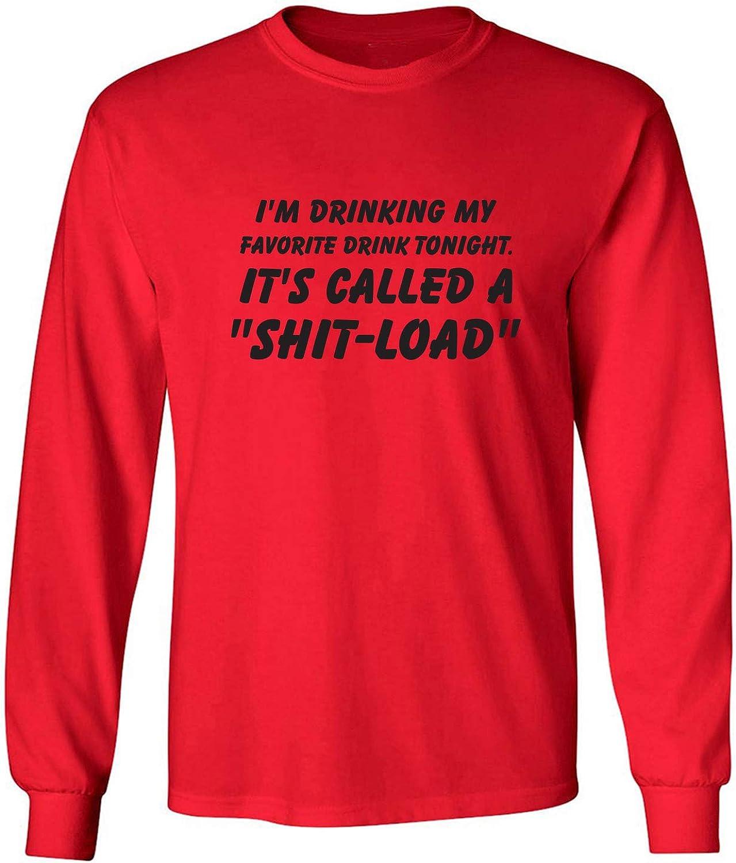 zerogravitee I'm Drinking My Favorite Drink Adult Long Sleeve T-Shirt