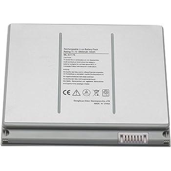 "Novelty A1175 Laptop Battery for Apple MacBook Pro 15"" inch A1260 A1150 A1211 A1226 (only for 2006 2007 2008 Version) MA348 MA348/A MA348G/A MA348J/A Laptop Notebook-Li-ion 5800mAh/ 6Cell"