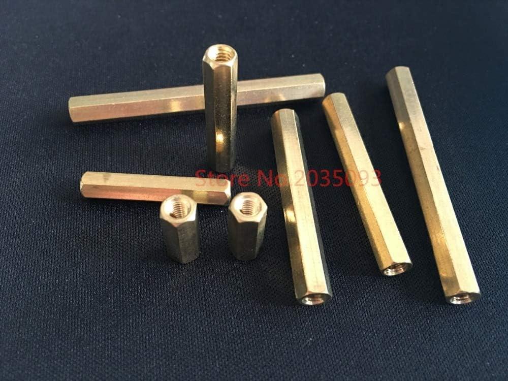 Ochoos 200pcs lot M4 Two-Way Hollow Pi Flat Column Copper Max OFFicial store 86% OFF