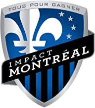 Montreal Impact F.C. USA MLS Soccer - Sticker Graphic - Auto, Wall, Laptop, Cell, Truck Sticker for Windows, Cars, Trucks