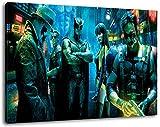 watchmen Format 120x80 cm Bild auf Leinwand, XXL riesige