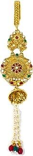 SAJH Saree gucha (juda) gold plated for women