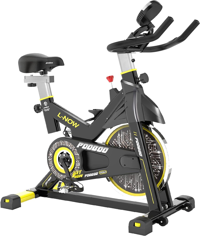 Pooboo Belt Drive Pro Exercise Bike