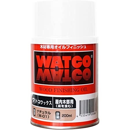 ワトコワックス ナチュラル W-15 200ML