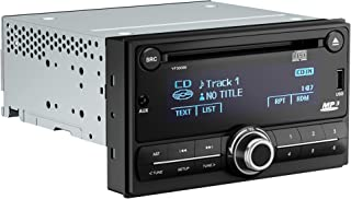 $99 » KEiiD Double Din Car Stereo Receiver CD Player with Bluetooth FM AM Radio Receiver USB AUX for Car Multimedia System
