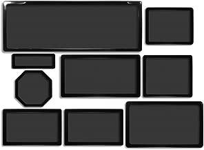 DEMCiflex Dust Filter Kit for Phanteks Enthoo Primo (8 Filters), Black Frame, Black Mesh