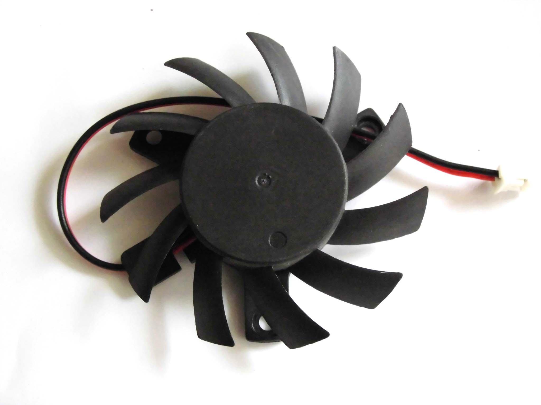 Generic 55 mm t126010sm 12 V 0.14 A 2 Cables Vídeo Ventilador 39 ...