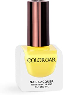 Colorbar Nail Lacquer, Banana Split, 12 ml