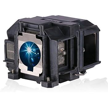 Bombilla de lámpara Loutoc V13h010l88 para Epson Elplp88 EB-S04 EH ...