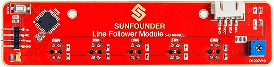 line follower kit electronic components