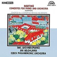 MARTINU: PIANO CONCERTO WORKS(2CD)(low-price) by BELOHLAVEK & CZECH PHILHARMONIC (2009-12-23)