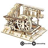 ROKR Mechanical Gears DIY Building Kit Modelo mecánico Kit de construcción con Bolas para Adolescentes y Adultos (Cog Coaster)
