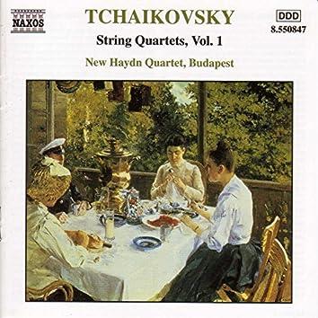 Tchaikovsky: String Quartets, Vol.  1