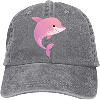 78b303c18 Amazon.com: pink dolphins - Hats & Caps / Accessories: Clothing ...