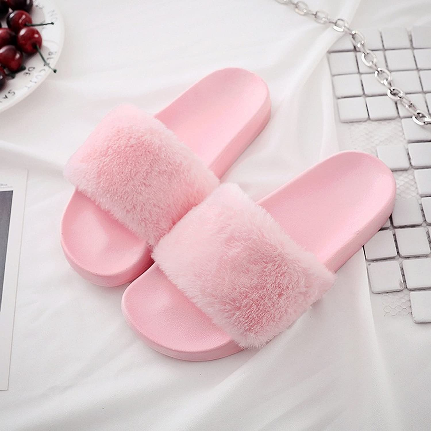 Female slippers summer fashion outdoor or indoor shoes fall slippers ( color   4 , Size   US 6.5\UK 5.5\EUR 38 )