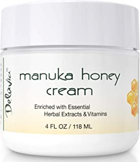 Day and Night Manuka Honey Cream for Face and Body | Certified Active 16+ | Organic Aloe Vera | Helps Relieve Dry Skin, Eczema and Psoriasis