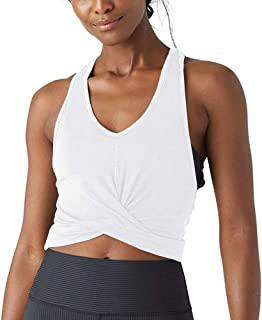Bestisun Cropped Workout Tank Tops Gym Athletic Clothes Tank Crop Tops for Women Sport