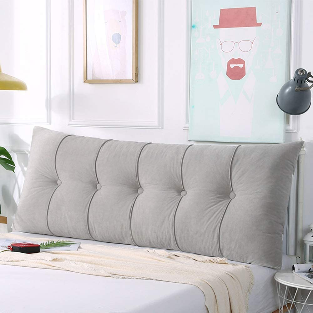 Max Manufacturer OFFicial shop 52% OFF Large Rectangular Headboard Pillow Bed Positioning Su Long Rest