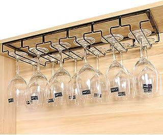 calici da Champagne in Cucina Lunji Supporto in Vetro sospeso Bronzo Vintage Bar Porta Bicchieri da Vino Ristorante